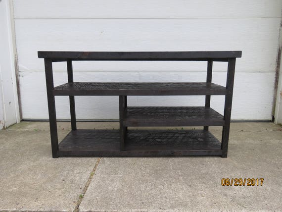 Rustic Entertainment Center Sofa Table, Sofa Table As Tv Stand