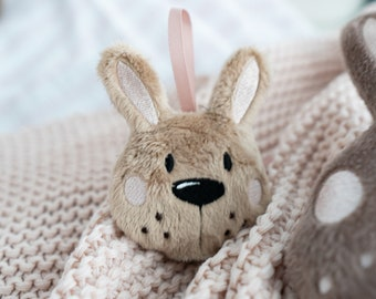 """Embroidery file ITH Rabbit Head 10x10 (4""""x4"""")"""