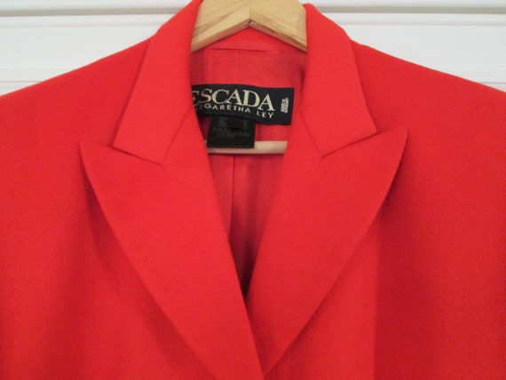 Vintage Escada Margaretha Ley Blazer Jacket