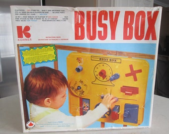 Vintage Busy Box Toy