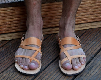 Sandales Hommes. Sandales kenyanes. Sandales grecques