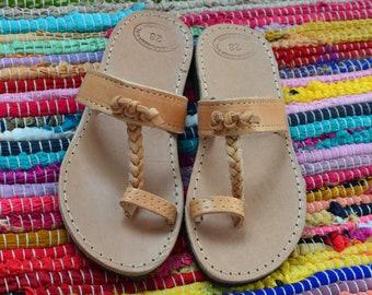 fb0c496075e0 Kids Leather Sandals
