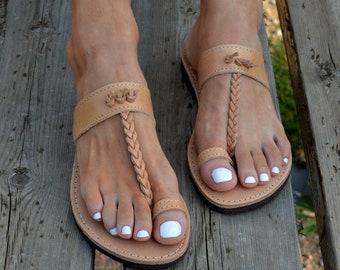 59874f5b6e7f Greek Toe ring Sandals