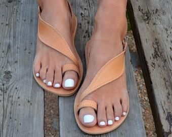 bcd92956d38e07 Women Greek leather sandals