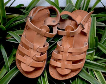Baptism Sandals,Greek Leather Sandals,Baby Shower Gift,Buckle Sandals,Leather Sandals,Girls Sandals,Girl Leather Sandals Kids Greek Sandals