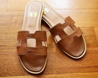 9a3c80528587 SAMPLE SALE EU 40 Greek leather sandals