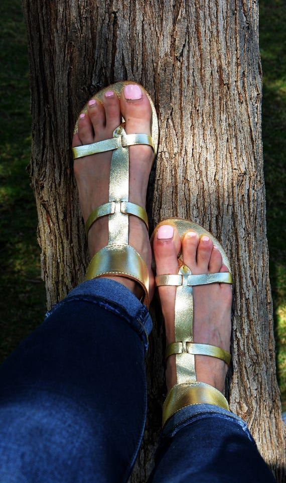 en sandales manchette grecques antiques cuir sandales sandales sandales dor gladiateur cuir sandales Or String cheville xaBqpYBw