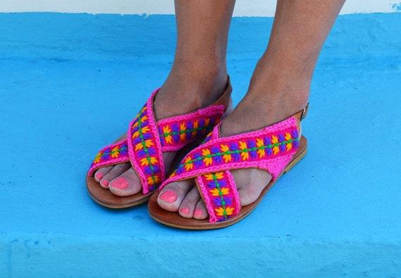 crochet sandales nbsp;Leticia au femmes pour Boho sandales nbsp; Sandales PwU1X1