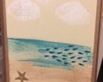 Beach Scene Card (1)