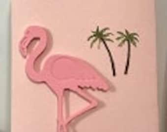 Flamingo Party Favor Treat Bags-12