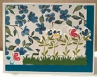 Flower Basket Pop-up Greeting Card