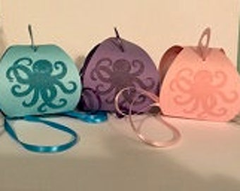 Octopus Octopy The Party, Party Favor Boxes-24