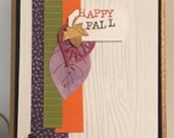 Seasonal Fall Celebration Card