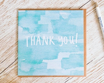 Thank You! Square Greeting Card - SALE