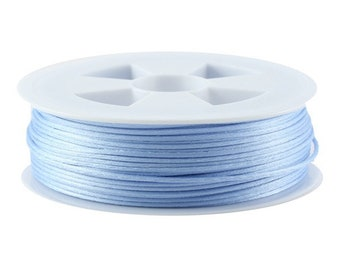 5, 10, 20 or 50 meters of 1.5 mm or 2.2 mm (Chinese string) rat tail light blue