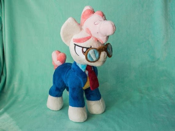 Plush Silver Spoon Stuffed Toy Custom Pony Made to Order