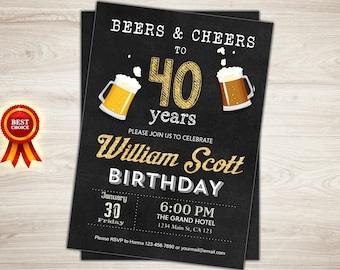 50 Cumpleaños Invitación Hombre Hombre Saludos A Los 50 Años