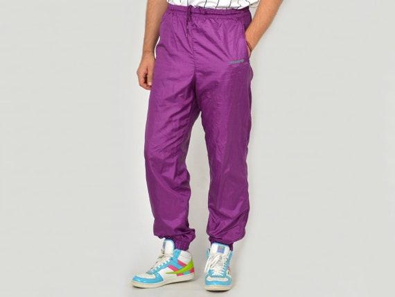 adidas pants lilac