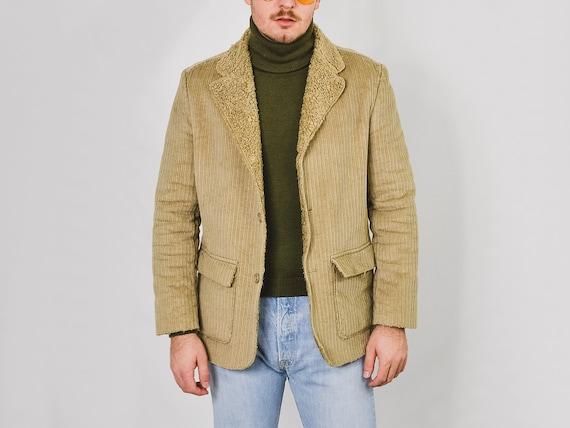 MEXX Corduroy jacket Vintage 90's faux shearling … - image 4