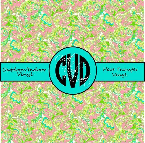 Beautiful Patterned Vinyl // Patterned / Printed Vinyl // Outdoor and Heat Transfer Vinyl // Pattern 28