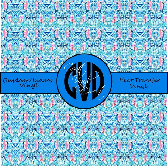 Beautiful Patterned Vinyl // Patterned / Printed Vinyl // Outdoor and Heat Transfer Vinyl // Pattern 720