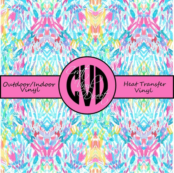 Beautiful Patterned Vinyl // Patterned / Printed Vinyl // Outdoor and Heat Transfer Vinyl // Pattern 714