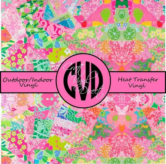 Beautiful Patterned Vinyl // Patterned / Printed Vinyl // Outdoor and Heat Transfer Vinyl // Pattern 73