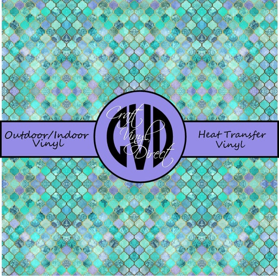 Moraccan Patterned Vinyl // Patterned / Printed Vinyl // Outdoor and Heat Transfer Vinyl // Pattern 710