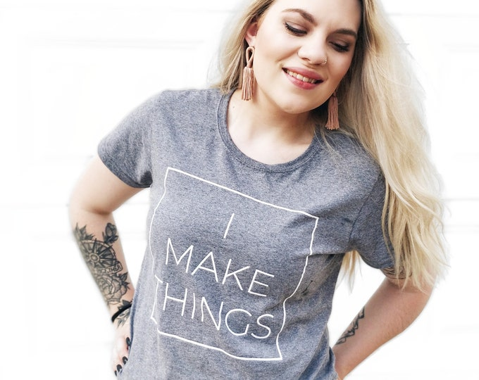 "Featured listing image: ""I Make Things"" T-Shirt"