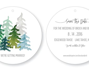Rustic / Natural Save the date