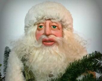 Father Christmas Doll, Old World Santa, Christmas Decor, Santa Figure