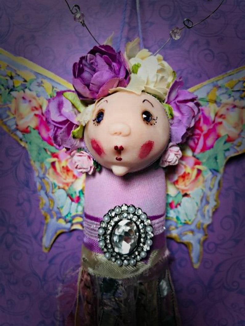 Fairy Decoration Fiber Tassel Butterfly Ornament Butterfly Fairy Tassel
