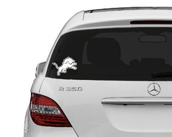 c Detroit Lions vinyl sticker for skateboard luggage laptop tumblers car