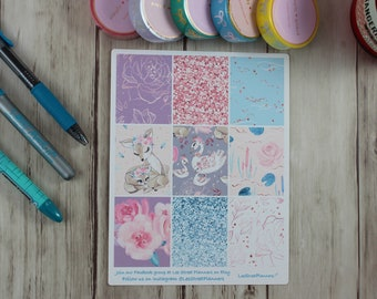 Mommy and Me Weekly Kit Stickers for ECLP Vertical Weekly Layout, No White Space, Deluxe Kit, Mommy and Me Planner Kit