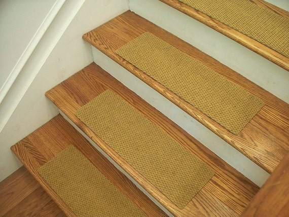 Essential Carpet Stair Treads Style Berber Color Natural | Etsy