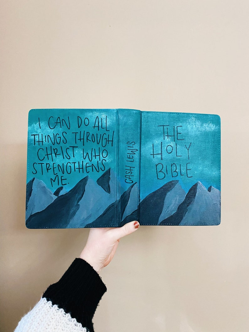 painted bible !