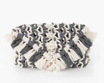 Bridal Clutch Purse // Macrame Clutch // Boho Wedding // macrame handbag //  bridesmaid gift // Bohemian Wedding Decor // wedding purse //