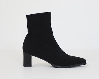 Fabric ankle boots   Etsy