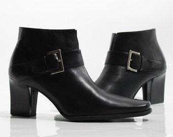 488b1ffd2f709 vtg 90s black leather minimalist structural futuristic harness