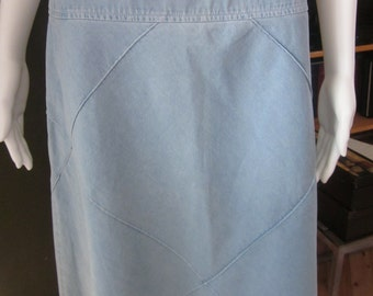 03a97ac17f8f Vintage Jones New York light Jean skirt