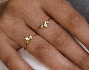 Dainty ring  - Gold ring - Silver ring - Minimalist ring - Delicate ring - Tiny ring - Stacking ring - Stackable ring - Minimalist jewelry