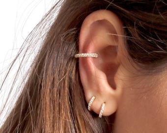 Small hoop earrings - huggie hoops earrings - hoop earrings - Dainty hoops - Tiny hoops - Thin hoops - Minimalist earrings - Minimal jewelry