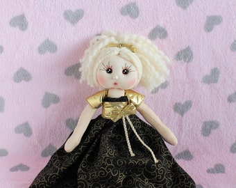 Lovely Fabric Doll - Fabiana