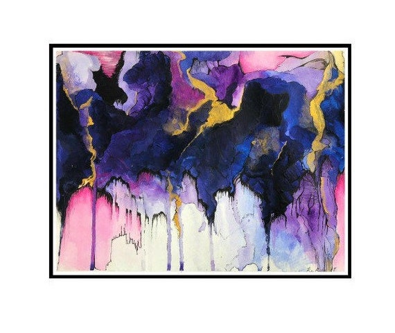 Watercolor Print Abstract Art Trending Now Watercolor Painting Best Selling Art Geometric Wall Art Top Selling Items Watercolor