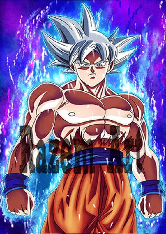 Goku Mastered Ultra Instinct Print