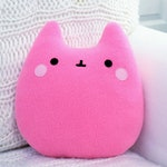 pink white Cloud pillow kawaii handmade