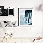 SMART OBJECT PSD, Scandinavian Styled Stock Photography,Product Background Mockup , wall shelf and Eames chair scene, Modern scene mockup