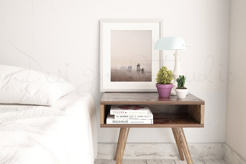Styled Stock Photography Frame Mockup Bedroom interior photo image 0