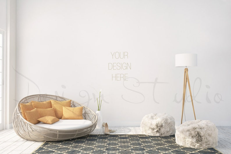 interior stock photo  Styled stock Photography living room image 0