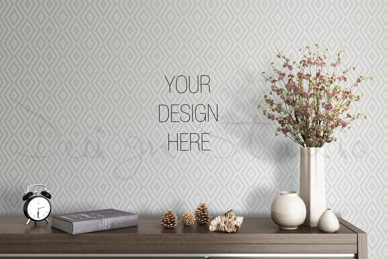 BUY3 PAY2 Blank Wall Mockup Photography Styled Photography image 0